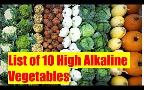 Top 10 Most Alkaline Foods - List of High Alkaline Vegetables
