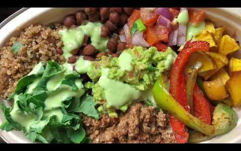 Electric Alkaline Vegan Chipotle bowl made with Dr Sebi Approved Ingredients