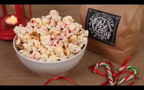 3 Holiday Popcorn Recipes | Made with Love