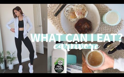 WHAT CAN I EAT ON THE CARNIVORE DIET? | Keto-Carnivore What I Eat In A Day (WEEK 7)