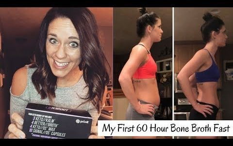 60 Hour Bone Broth Fast Results | Keto Reboot | Allison Bixenman