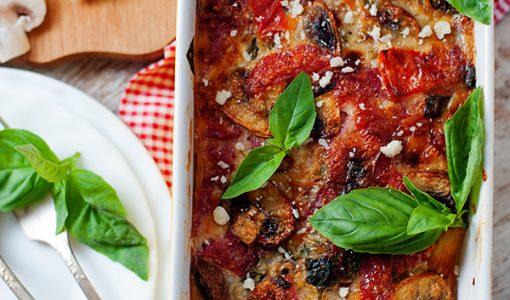 Basil, Bacon & Red Pepper Frittata Recipe