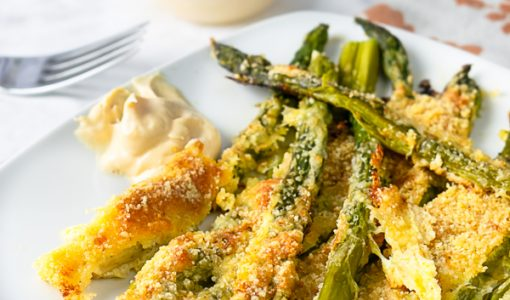 Asparagus Fries with Chipotle Aioli Recipe