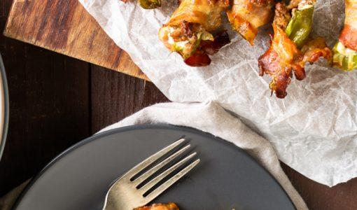 Bacon Wrapped Jalapeno Popper Recipe