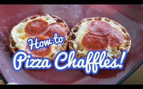 Gooey Pizza Chaffle