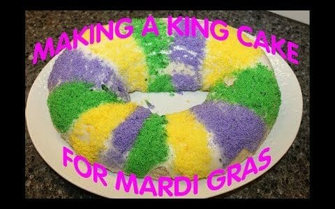 Making A King Cake for Mardi Gras – Recipe