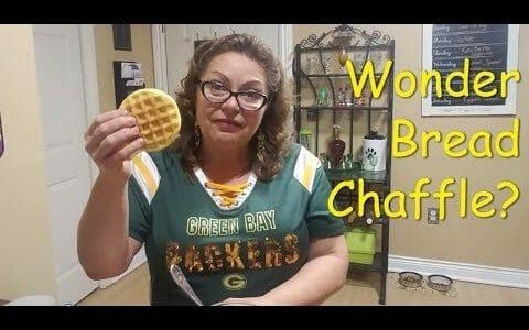 Wonder Bread Chaffle Recipe - Is it real or Memorex :)