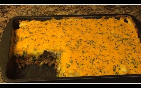 TASTE BUD OVERLOAD How to make Shepard pie the right way