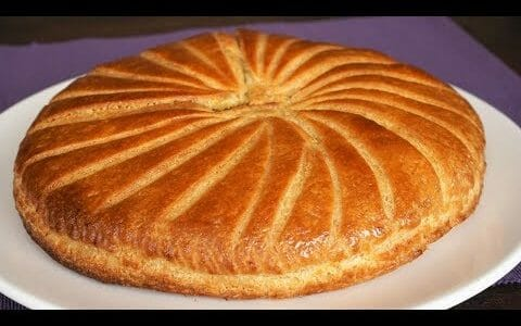 Almond King Cake - Galette des Rois - Morgane Recipes