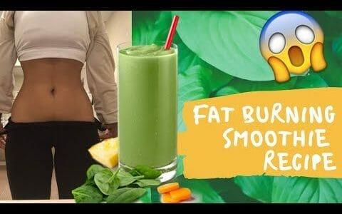 FAT BURNING SMOOTHIE RECIPE! | BYE BYE TUMMY FAT!