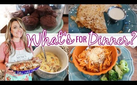 ????NEW!   WHAT'S FOR DINNER | FALL COMFORT FOODS | EASY DINNER IDEAS | Cook Clean And Repeat