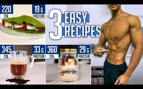 The PERFECT Breakfast Ideas To Get Shredded (3 Quick & Healthy Recipes)