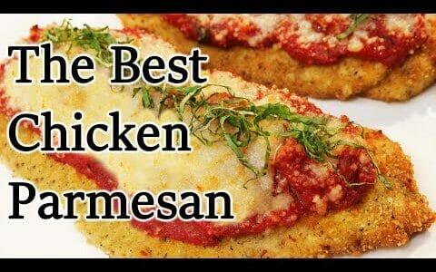 The Best Chicken Parmesan Recipe - Chef Jean-Pierre