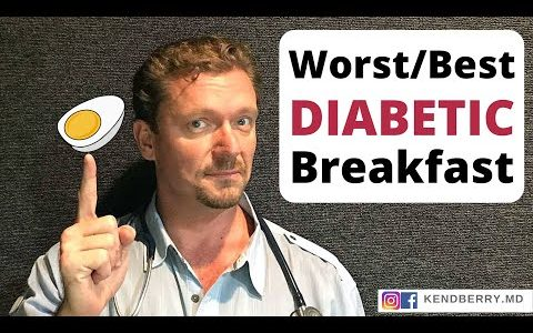 5 Best/Worst Breakfasts for Diabetics - 2021 (Diabetic Diet)