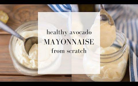 Avocado Mayo Recipe | MADE FROM SCRATCH| Easy Mayonnaise Recipe