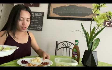 How to Make Garden Salad || Avocado Oil Blend Dressing || Healthy Salad Recipe