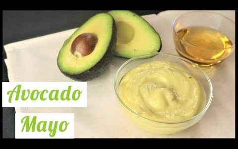 Low Carb/Keto Avocado Oil Mayonnaise (Fast and Easy)