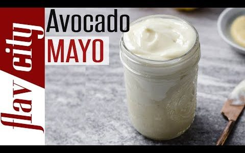 How To Make Homemade Avocado Oil Mayonnaise - Keto, Paleo, & Whole30