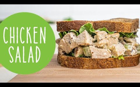 Chicken Salad Recipe made with Avocado Oil Mayonnaise