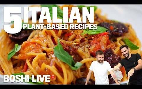 5 ITALIAN INSPIRED VEGAN RECIPES